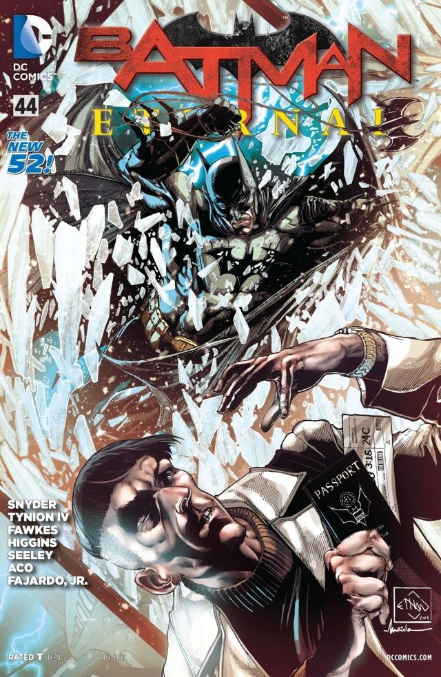 Batman Eternal #44 Regular Cover 1st Print DC Comics Apr 2015 New 52