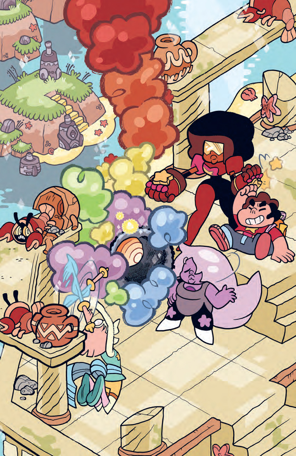 Steven Universe Storm In The Room Preview