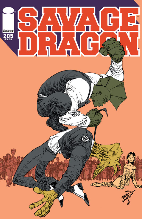 SavageDragon205_Cover