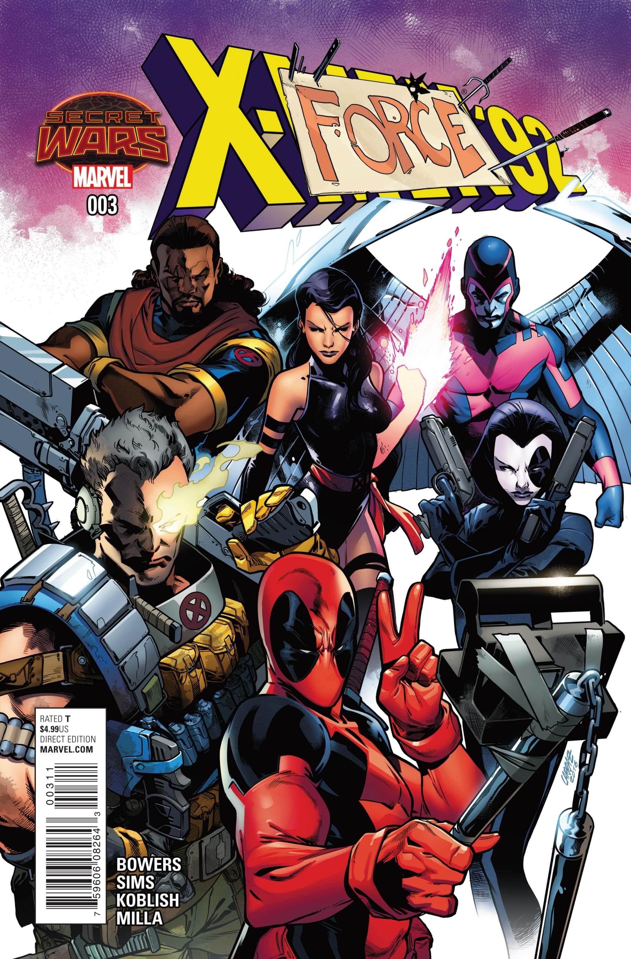 X-Men'92003cvrA