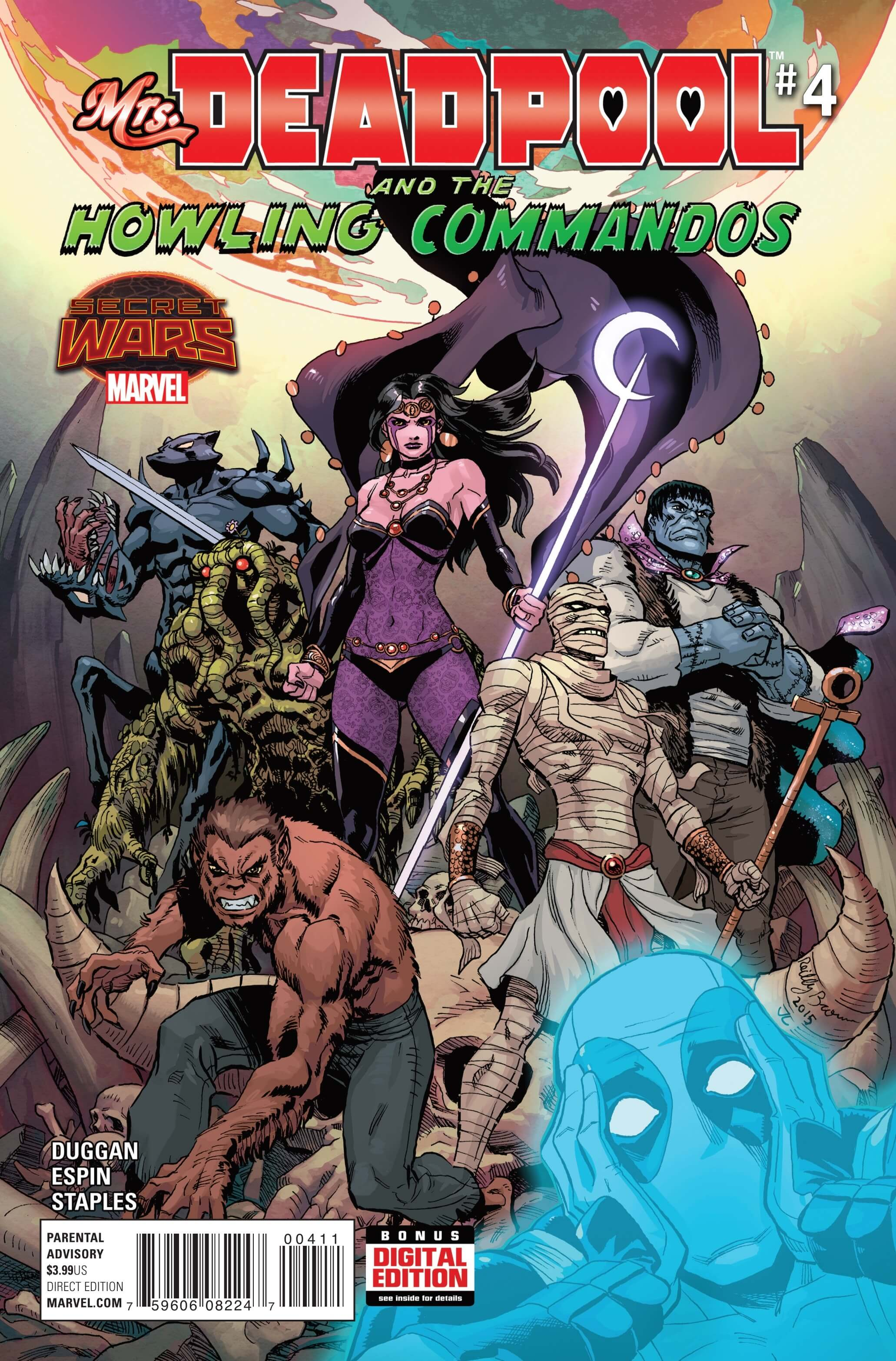 Mrs. Deadpool and the Howling Commandos #4cvrA