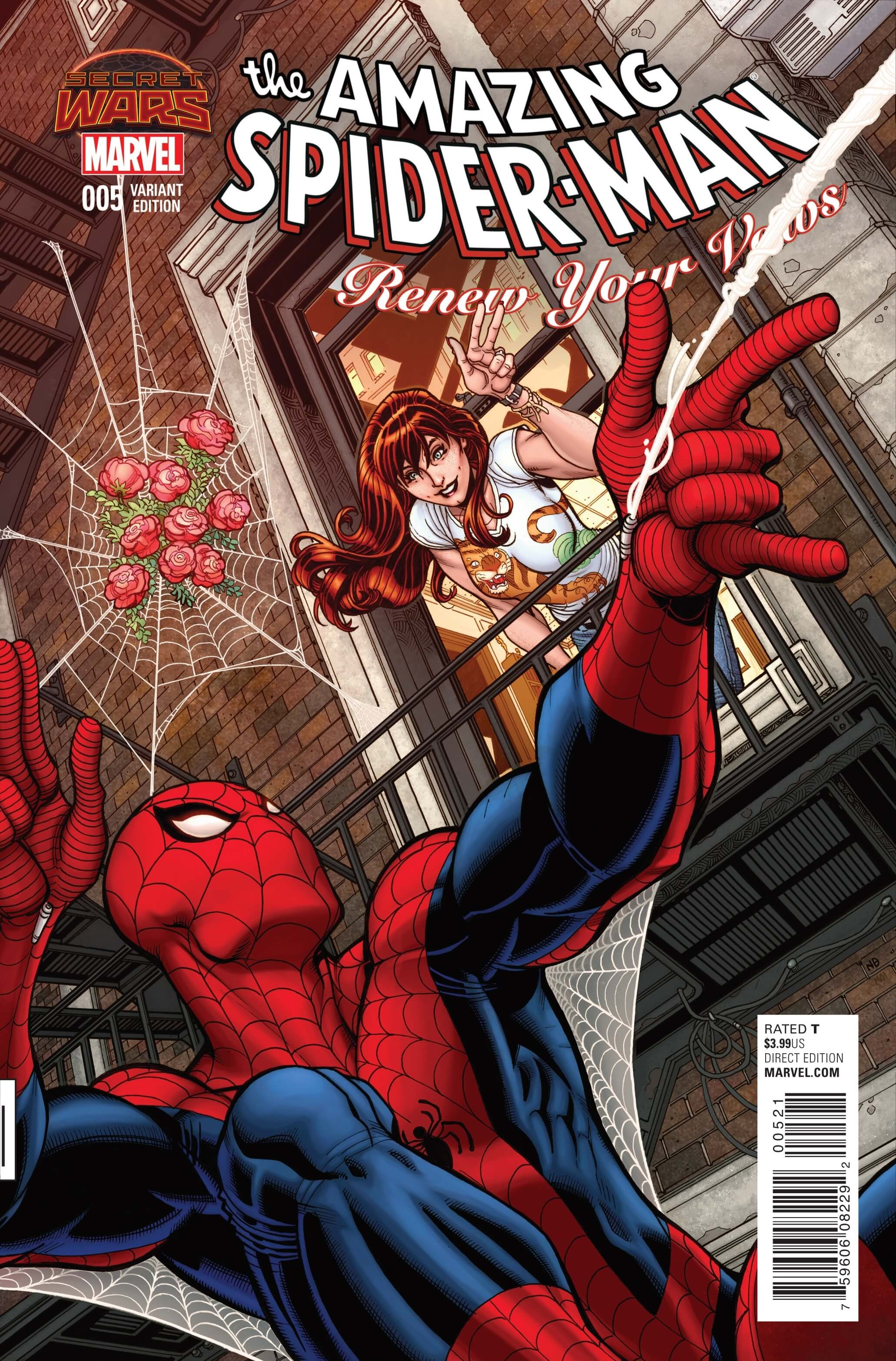 The Amazing Spider-Man Renew Your Vows #5cvrB