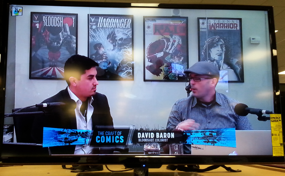 Host Jacob Rivera with David Baron