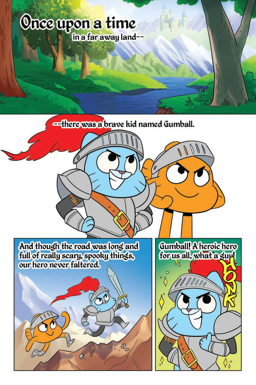 Preview The Amazing World Of Gumball Fairy Tale Trouble