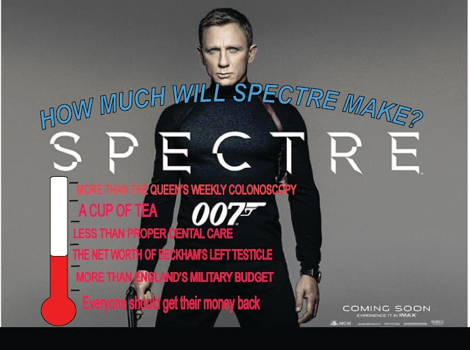 how much will spectre make