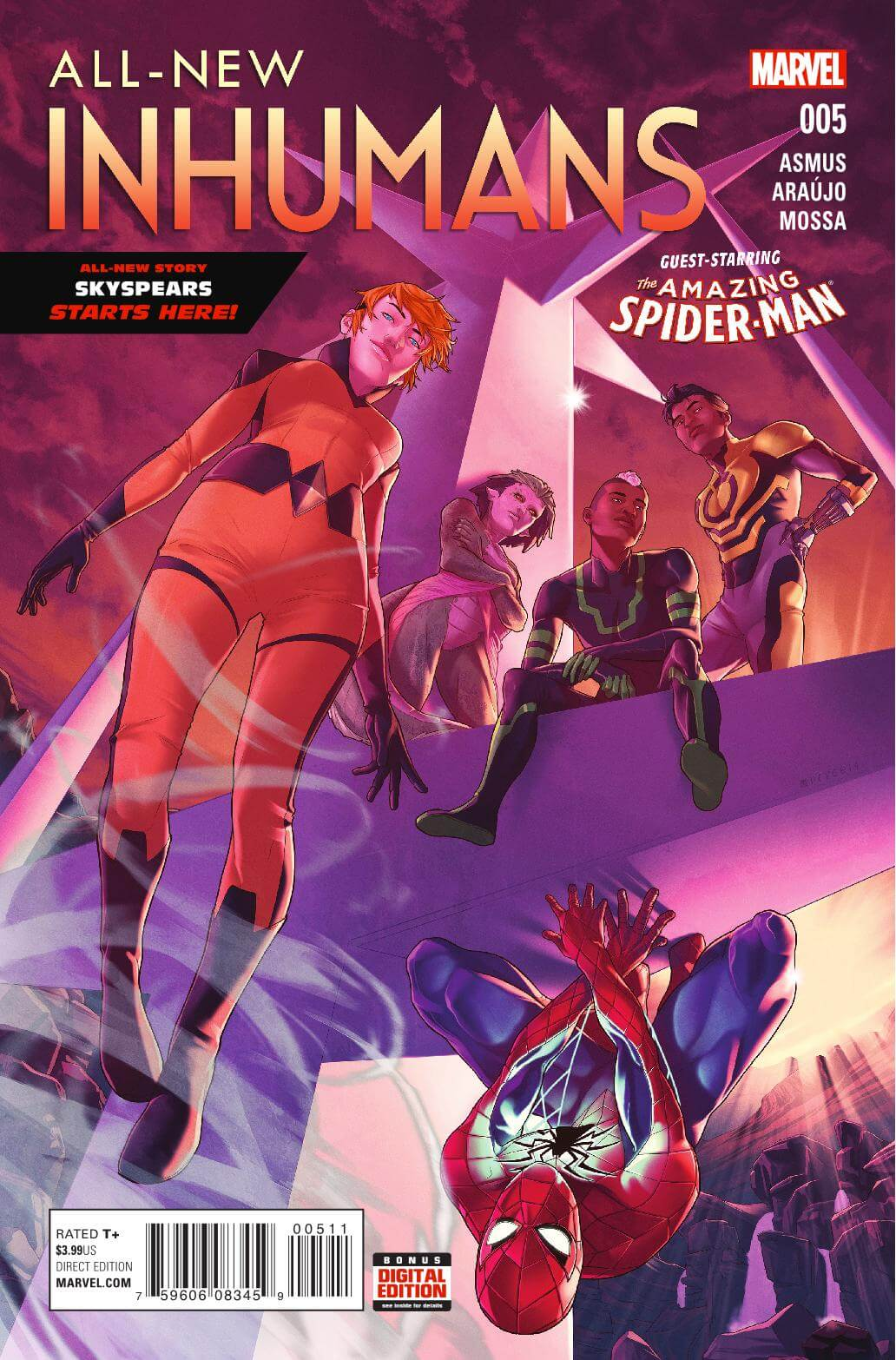 All New All Different Avengers Vol 1 2: Preview: All-New Inhumans #5
