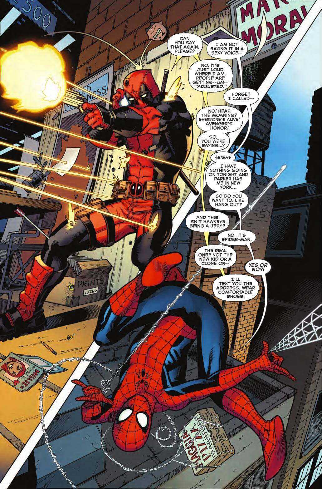 The It s Complicated Relationship of Deadpool and Spiderman