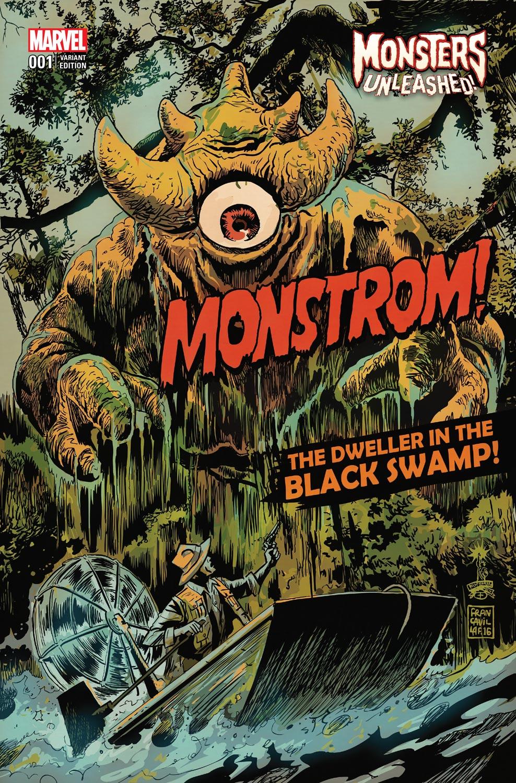 Monsters_Unleashed_1_Francavilla_Variant