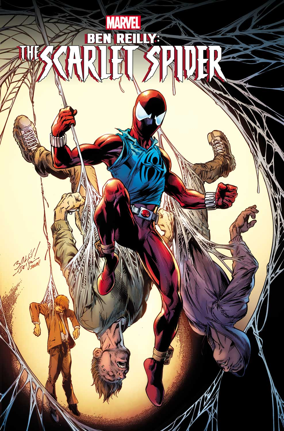 ben reilly the scarlet spider 1 � your first look at the