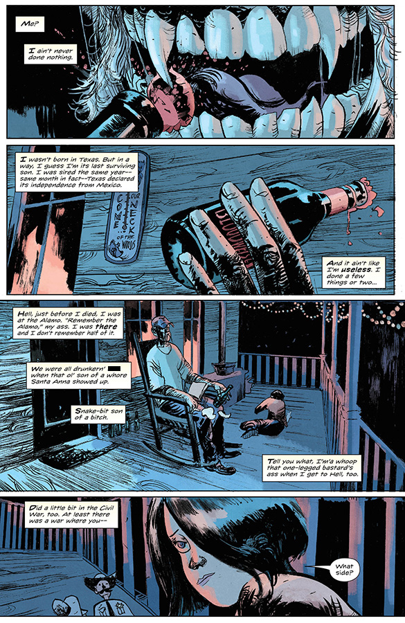 Preview Page of Redneck #1