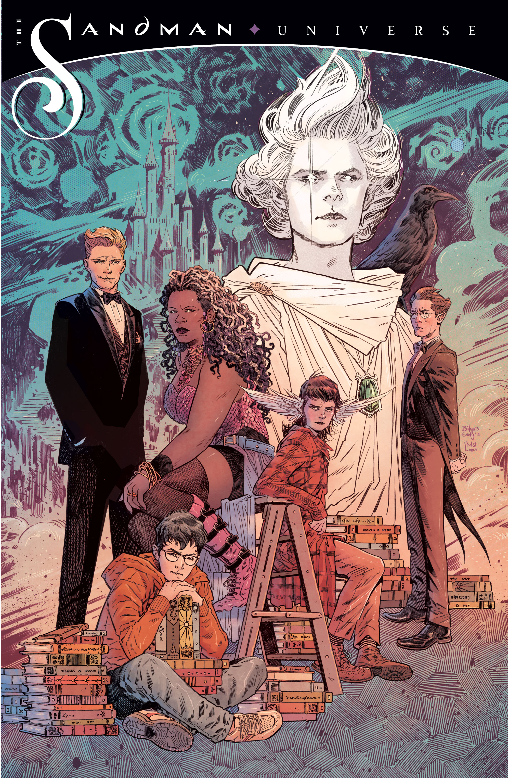 The Sandman Universe_promo by Bilquis Evely