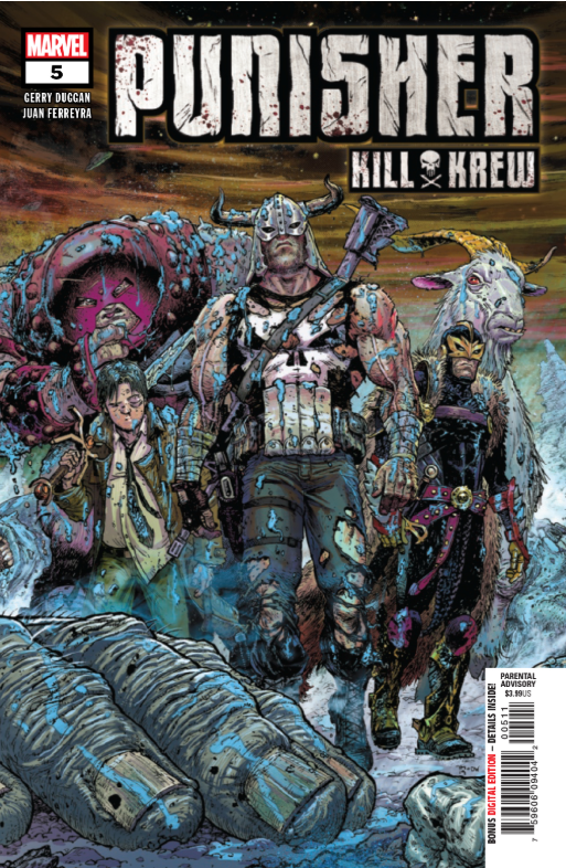 punisher kill krew #5