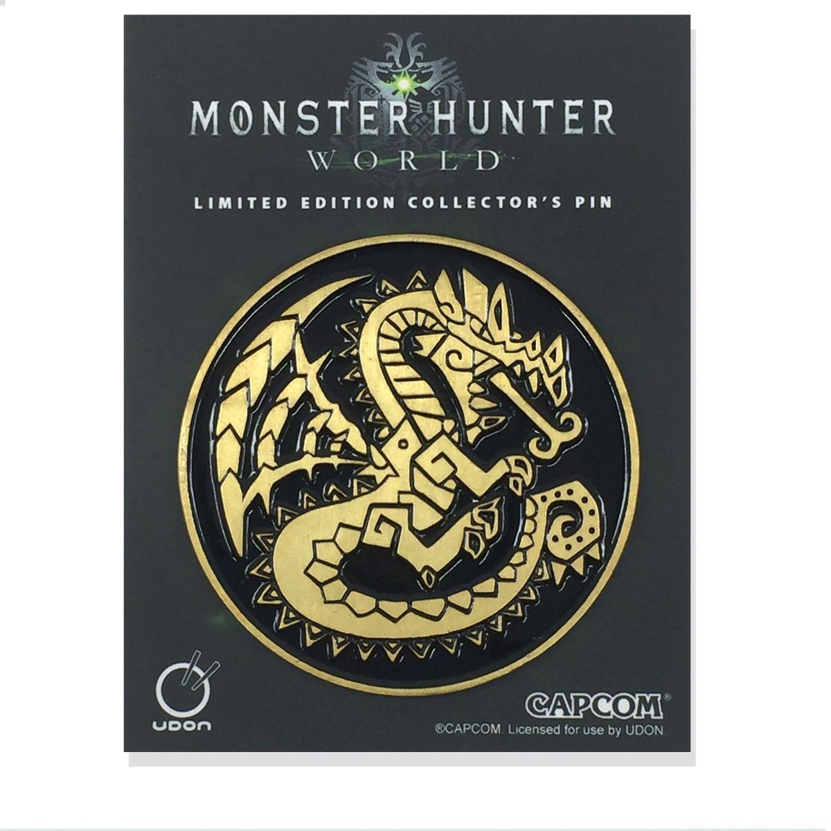 monster hunter pin