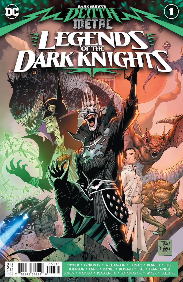death metal legends of the dark knights 1