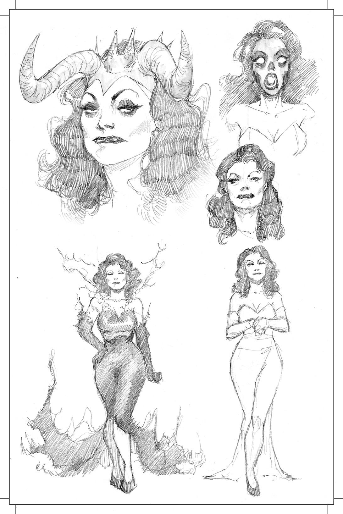 MadamSatan–JuliusOhta–sketches
