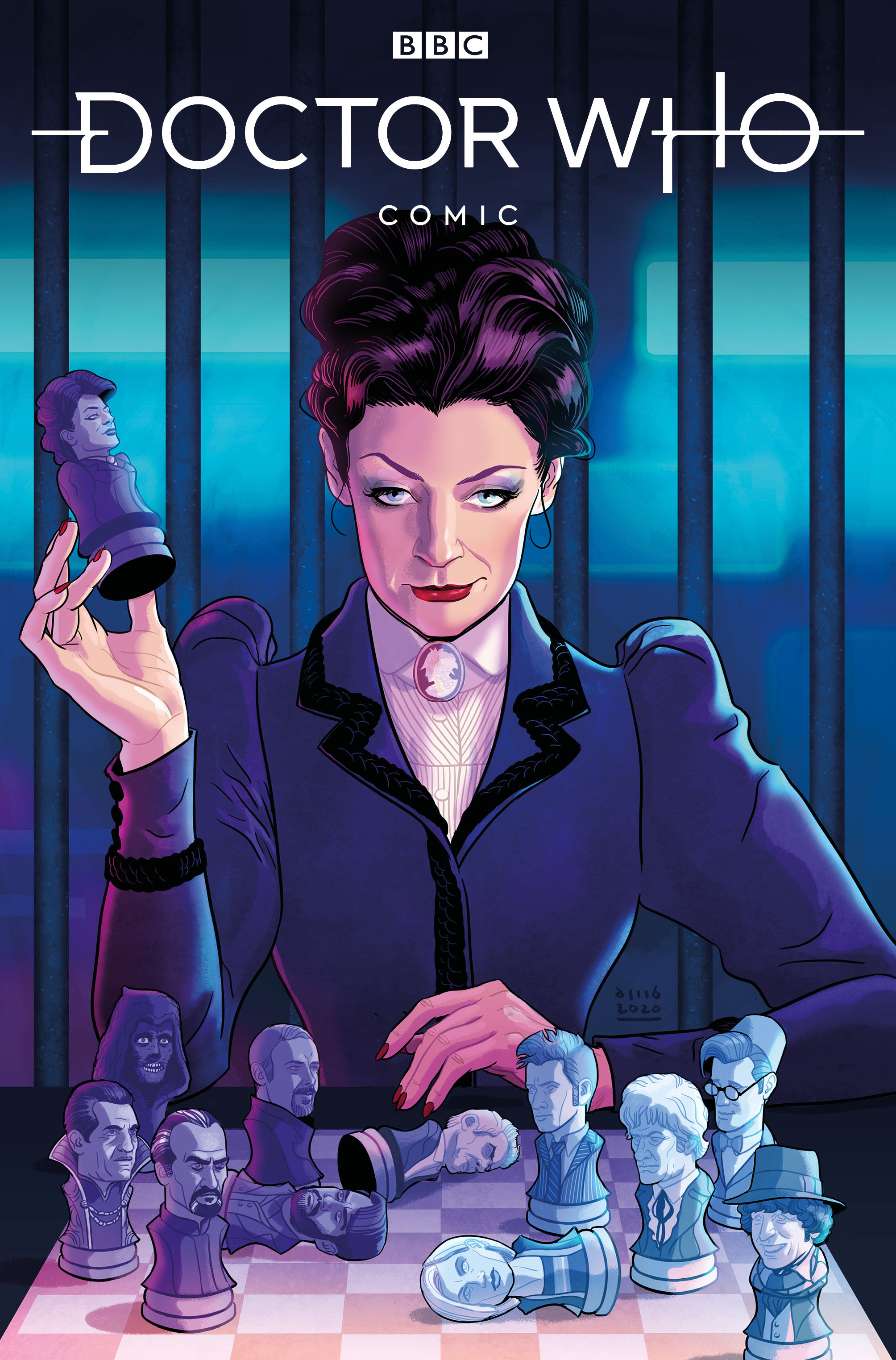 Doctor Who Missy #1A David Busian